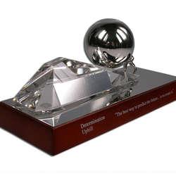 Motivational Trophy of Determination