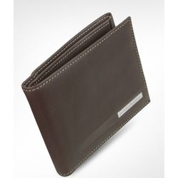 Pininfarina Leather Billfold ID Wallet