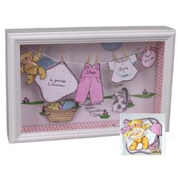 Personalized Shadowbox Frame for A Girl