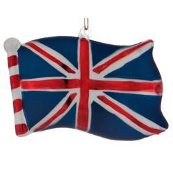 United Kingdom Flag Christmas Ornament