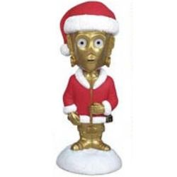Star Wars Holiday C-3PO Bobblehead