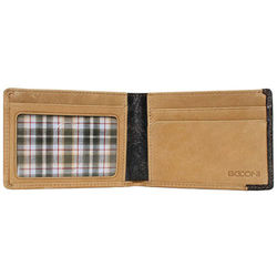 Calfskin and Plaid Slimster Wallet