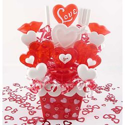Hearts for You Lollipop Bouquet