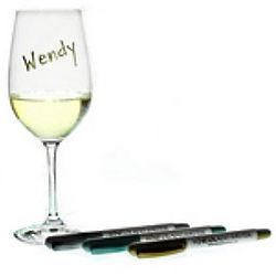 Wine Glass Pens