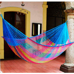 Rainbow Seascape Double Hammock