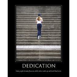 Dedication Personalized Print