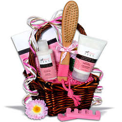 Women's Foot Care Gift Basket