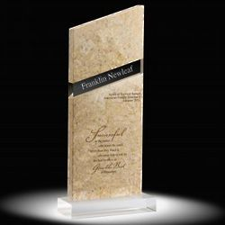 Personalized Ascending Marble Award