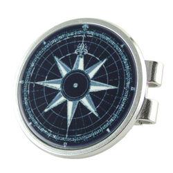 Nautical Compass Rose Money Clip
