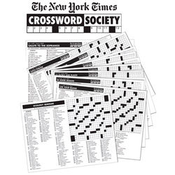 New York Times Crossword Puzzle Society Subscription