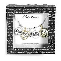 You Are Special Sister Necklace