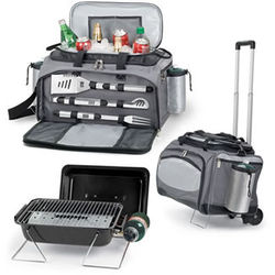 Tailgating BBQ Grill & Cooler Combo