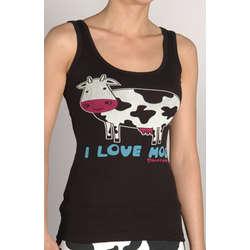 'I Love Moo' Tank