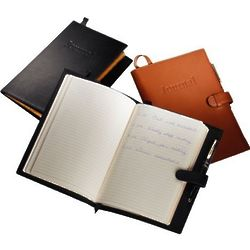 Embossed Cover Leather Journal