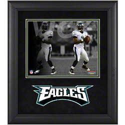 Michael Vick Framed Photograph