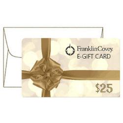 Franklin Covey 25 Dollar Gift Card