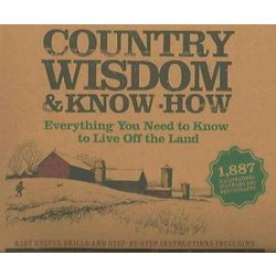 Country Wisdom and Know How Book