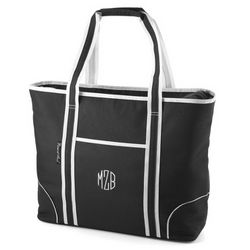 Black Insulated Tote Bag