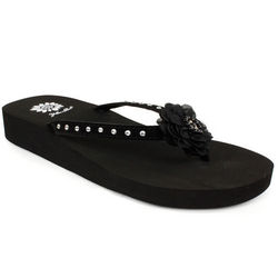 Women's Geneca Black Sandals