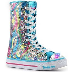 Skechers Dizzy Diva Hi Top Light Up Sneaker