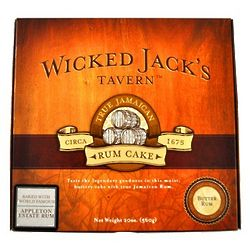 Wicked Jack's Tavern Caramel Rum Cake 33oz