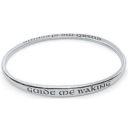 Guide Me Waking Guard Me Sleeping Bangle