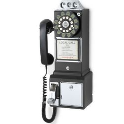 1950s Style Pay Telephone
