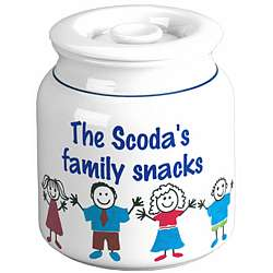 Personalized Family Cookie Jar