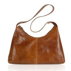 Handmade Brown Genuine Italian Leather Hobo Bag