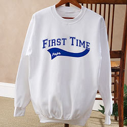 First Time Grandparent Personalized Sweatshirt