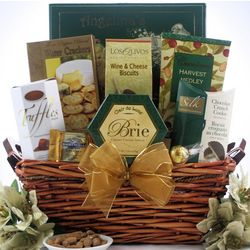 Holiday Delights Christmas Gift Basket