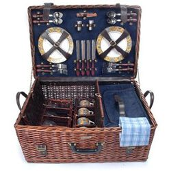 Riviera Picnic Basket for Four