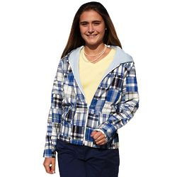 Women's Madras Hoodie Sweatshirt