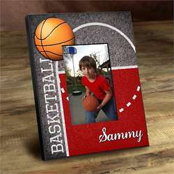 Personalized Kid's Basketball Picture Frame