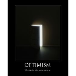 Optimism Personalized Print