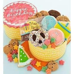 Birthday Cookies Cake Box