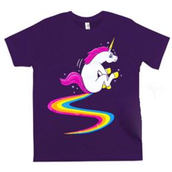 Glitter Rainbow Unicorn Poop T-Shirt