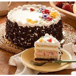 Banana Neapolitan Layer Cake