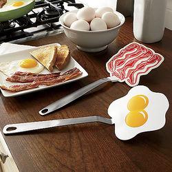 Bacon and Egg Spatulas