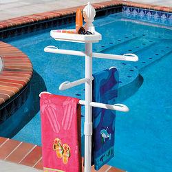 Poolside Towel Valet