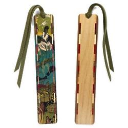 Rookery Wood Bookmark with Tassel