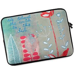 She Believed She Could Laptop Case