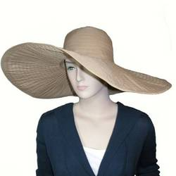 Extra Large Brim Shapeable Sun Hat - FindGift.com d9beaa22b30