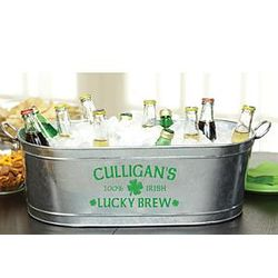 Lucky Brew Personalized Beverage Tub
