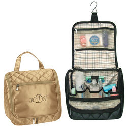 Quilted Toiletry Travel Bag