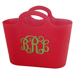 Personalized Vinyl Storage Tote