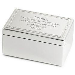 Engraved Elvis Music Box