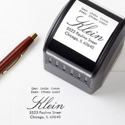 All About Family Self-Inking Stamper