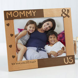 You and Me Personalized 8x10 Picture Frame