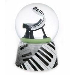 Music of the Night Jazz Piano Water Globe